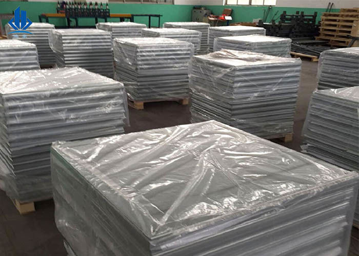 1000LBS Concentrated Load Heavy Duty Vinyl Tiles Calcium Sulphate False Panel
